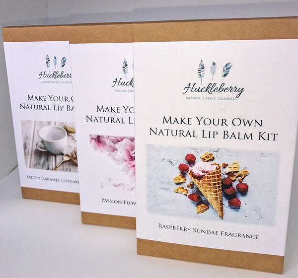 Make your Own - Lipbalm Kit - Work Home Play