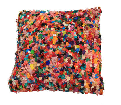 Cushion - Rag Multi Coloured