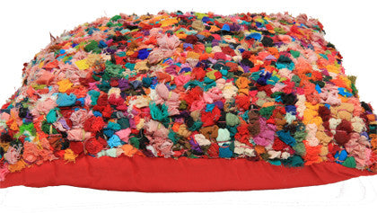Cushion - Rag Multi Coloured - Work Home Play