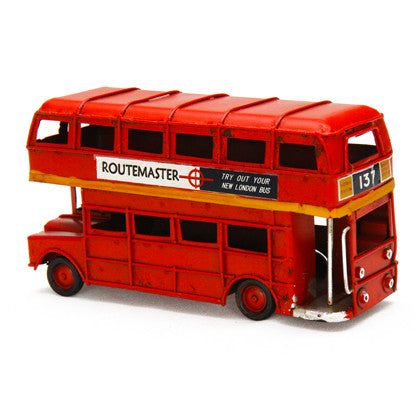 London Big Red Bus - Work Home Play