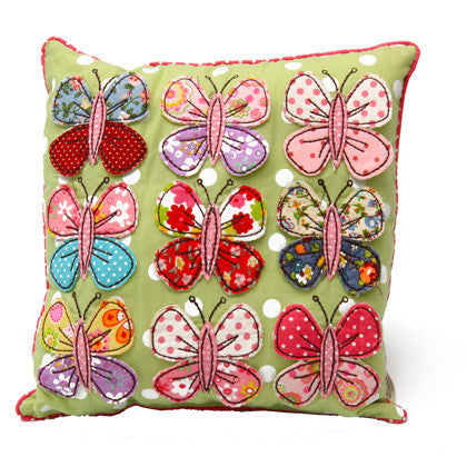 Cushion - Flutterbys - Work Home Play