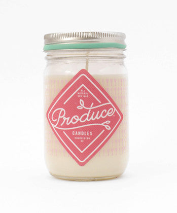Candle Soy Wax - Rhubarb Produce - Work Home Play