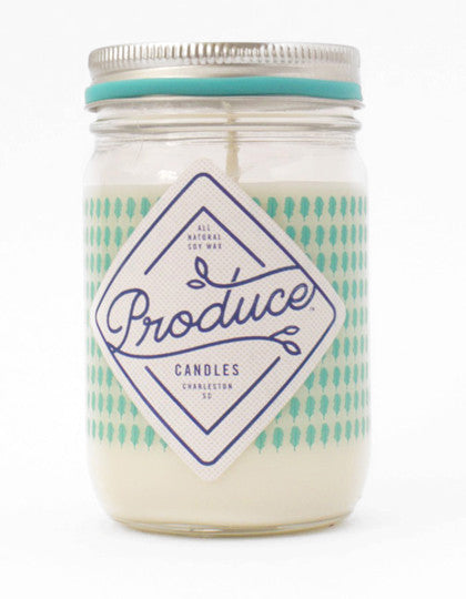 Candle Soy Wax - Kale Produce - Work Home Play