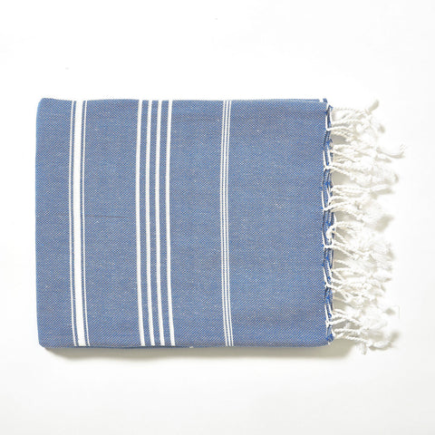 Turkish Towel - Light Blue - Work Home Play