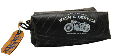 Cafe Racer - Recycled Tyre Wash Bag - Work Home Play