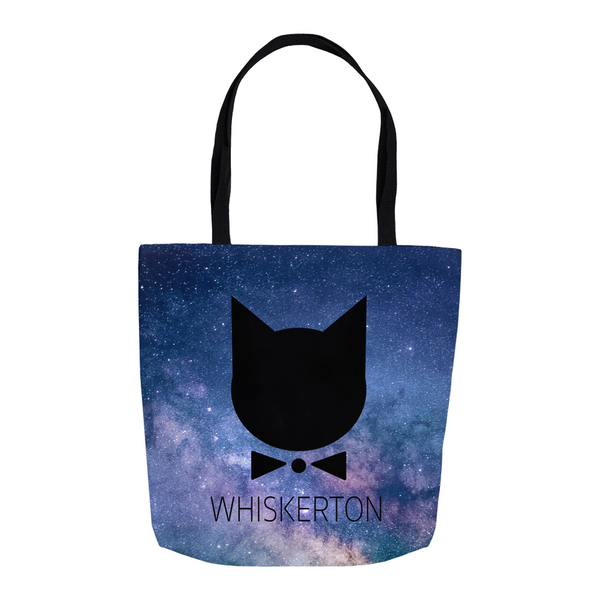 WHISKERTON Tote Bags