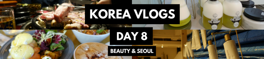 KOREA VLOGS DAY 8: KBeauty Shopping day in Garosu-gil