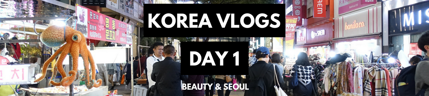 KOREA VLOGS DAY 1 | In-Flight Skincare Routine