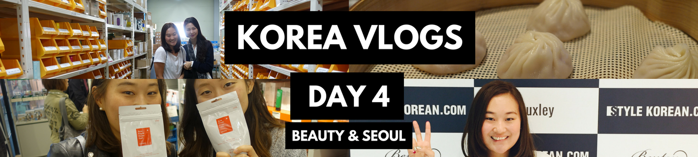 KOREA VLOGS: DAY 4 | Style Korean KBeauty Heaven!