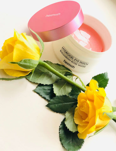 Buy Heimish Bulgarian Rose Hydrogel Eye Patches