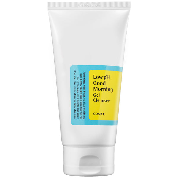 Cleansers - COSRX Low Ph Good Morning Gel Cleanser
