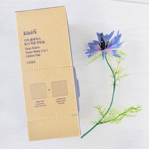 Accessories - KLAIRS Toner Mate 2-in-1 Cotton Pads