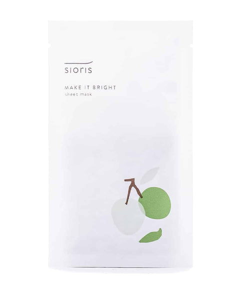 Sheet Masks - SIORIS Make it Bright Sheet mask