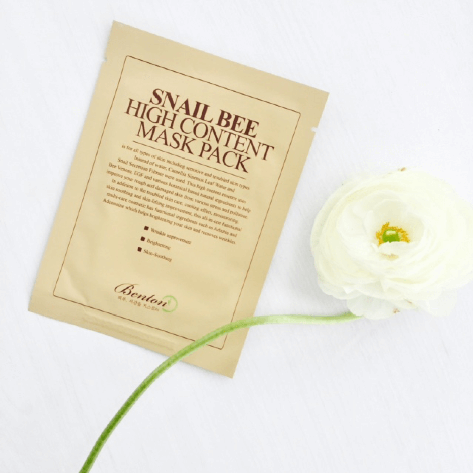 Sheet Masks - BENTON Snail Bee High Content Mask
