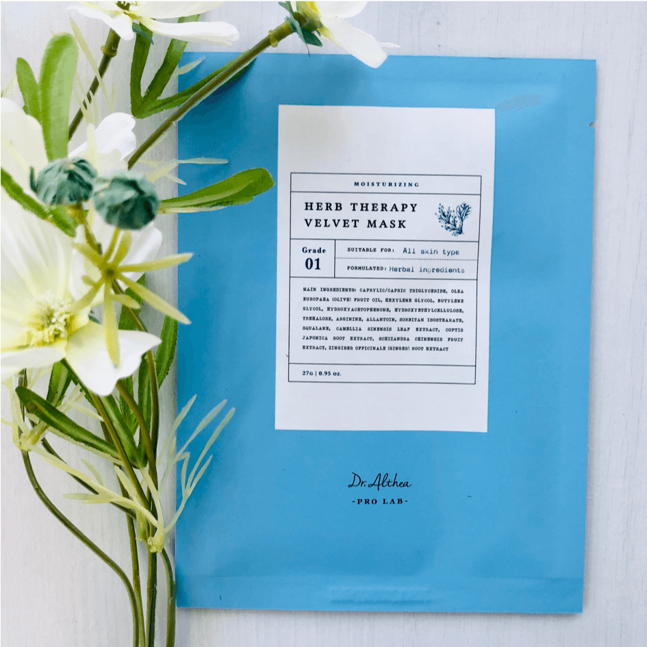 Sheet Masks - DR ALTHEA Herb Therapy Velvet Mask
