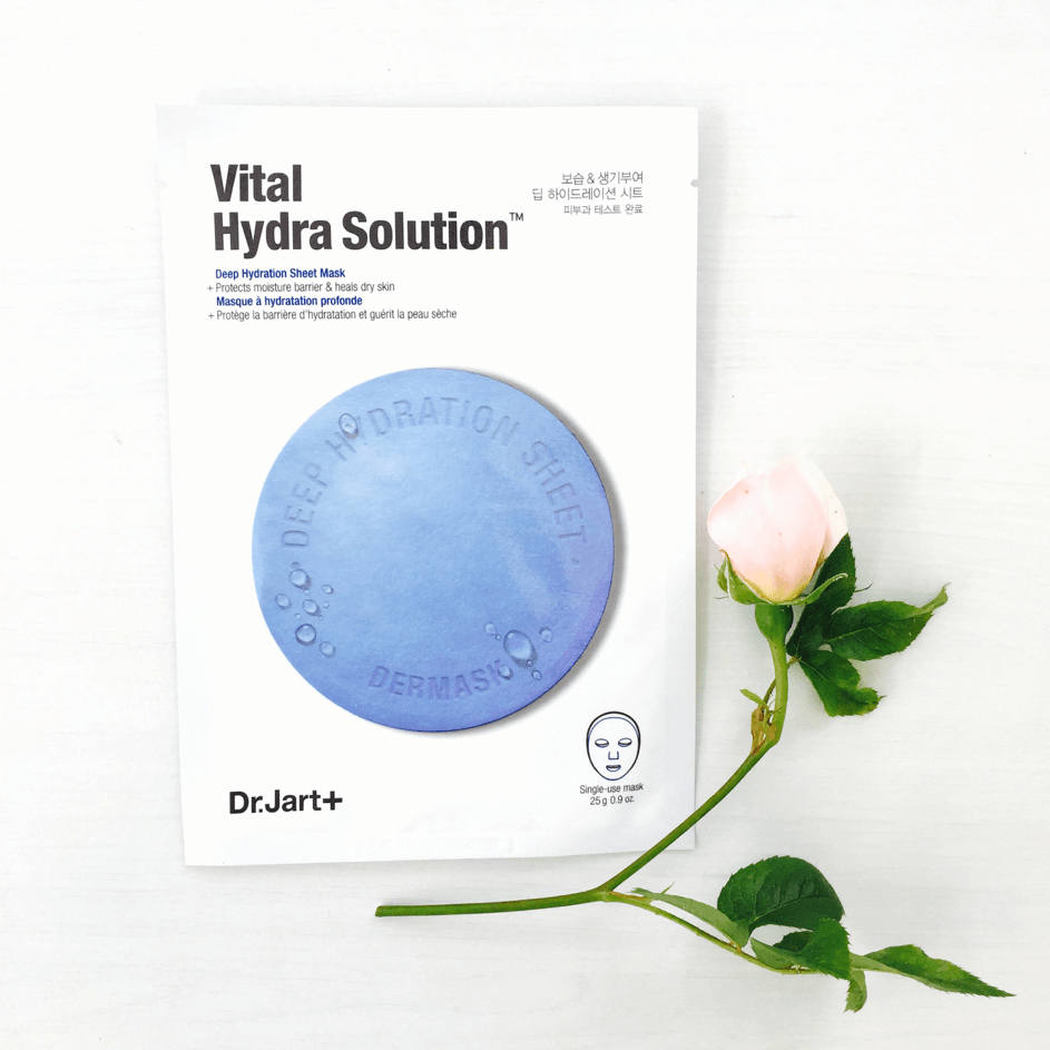 Sheet Masks - DR.JART+ Dermask Vital Hydra Solution Deep Hydration Mask