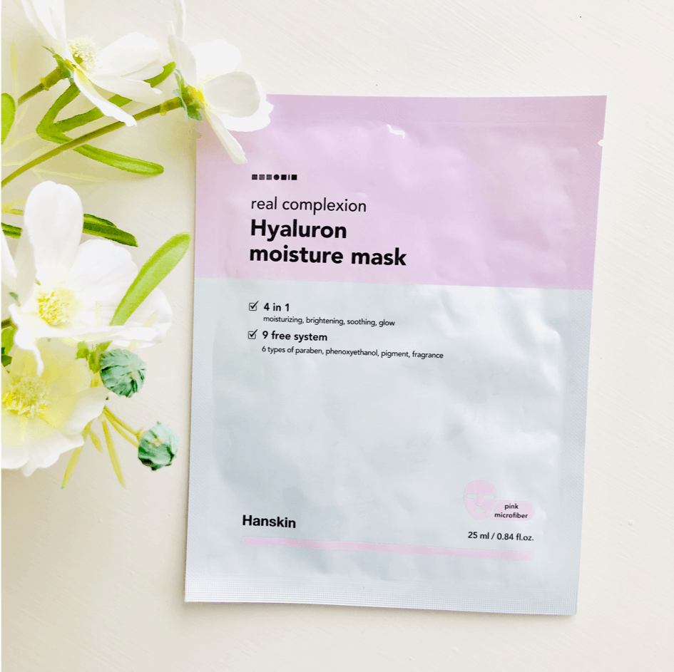 Sheet Masks - HANSKIN Real Complexion Sheet Mask