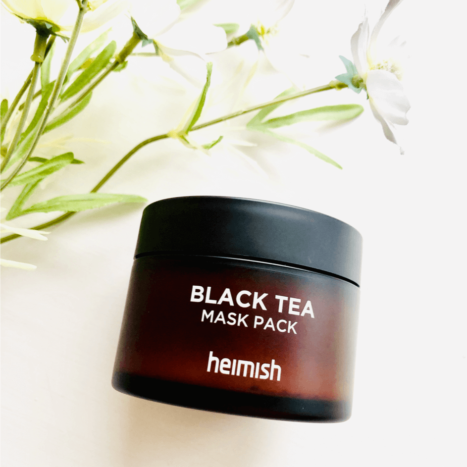 Masks - HEIMISH Black Tea Mask Pack