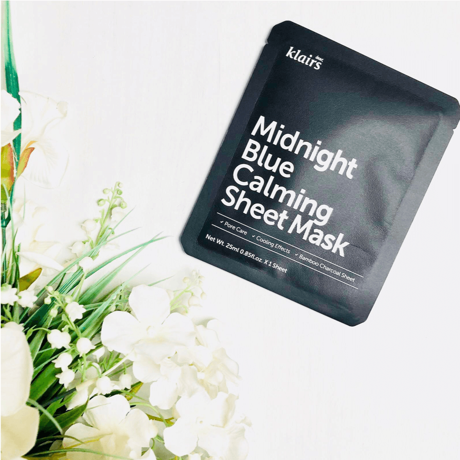 Midnight Blue Calming Sheet Mask by Klairs #18