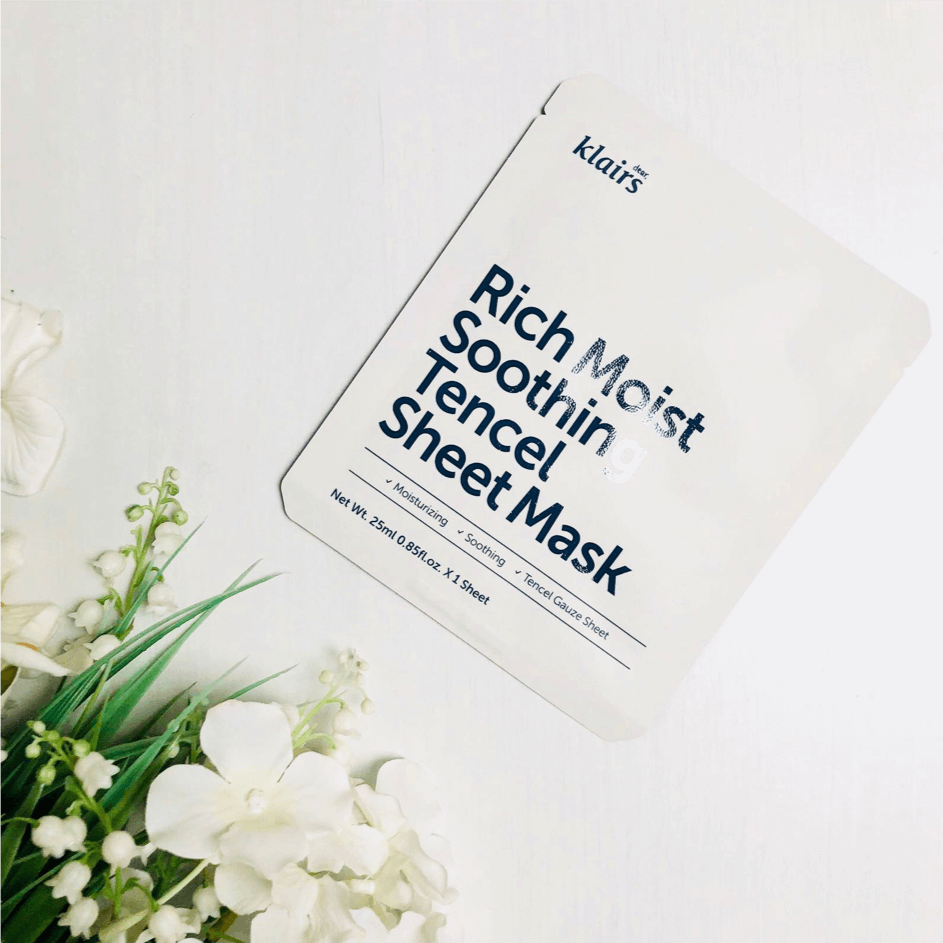 Sheet Masks - KLAIRS Moist Soothing Tencel Sheet Mask