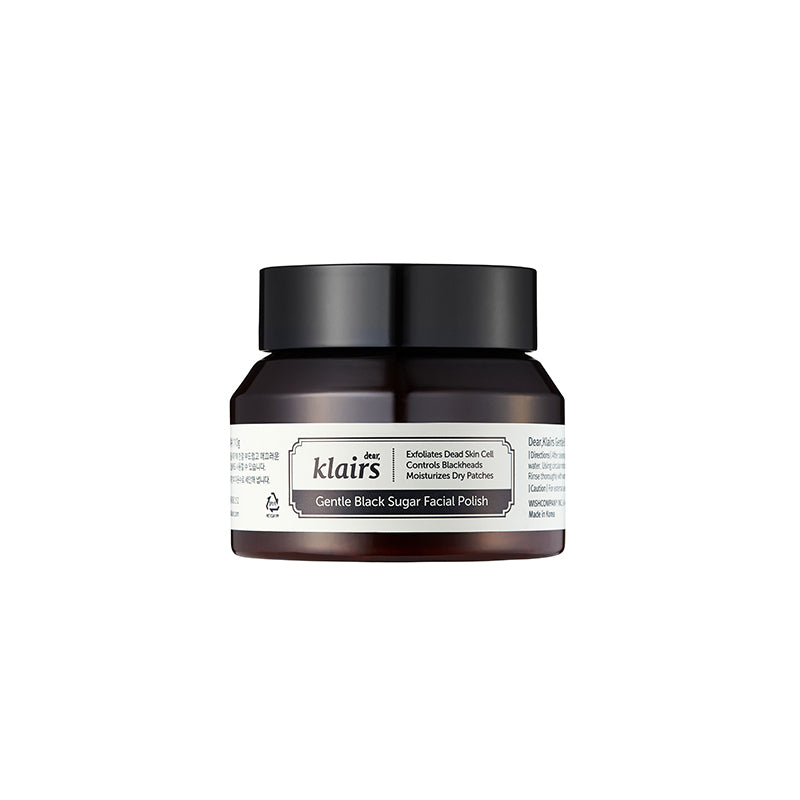 Exfoliator - KLAIRS Gentle Black Sugar Facial Polish