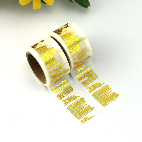 Washi tape - Paris in Gold
