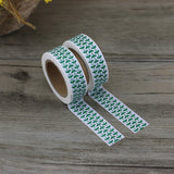 Washi tape - Green Leaves