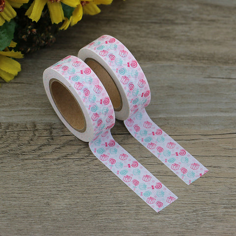 Washi tape - Candies and Presents