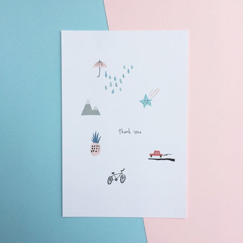 Give Thanks Pack #9 - Greeting Card