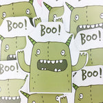 Vinyl Sticker - Monster Boo