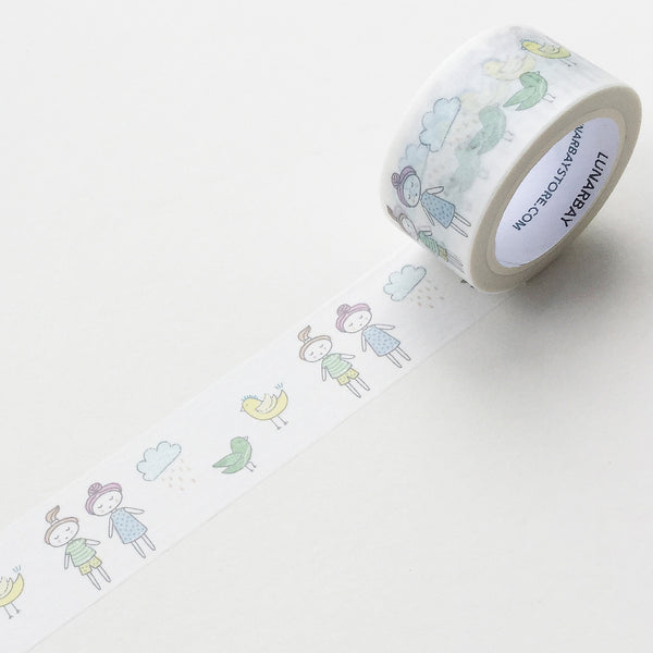 Cute Hand Drawn Kids' Dream / 25mm