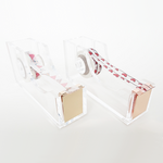 Acrylic Tape Dispenser (Rose Gold)