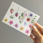 Washi Sticker - Floral Pack