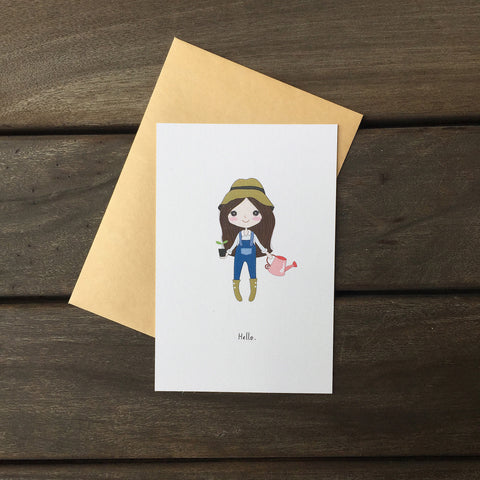 Greeting Card - Hello! 2