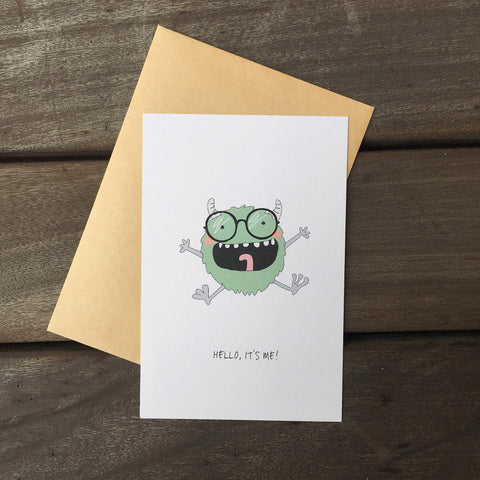 Greeting Card - Hello! 3