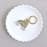 Magical As Fuck Glitter Rainbow Keychain with Tassel