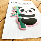 Puffy Sticker - Panda
