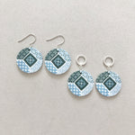 Oriental Tiles (Dangle) Earrings