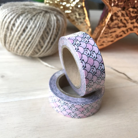 Washi tape - Pink Kitty
