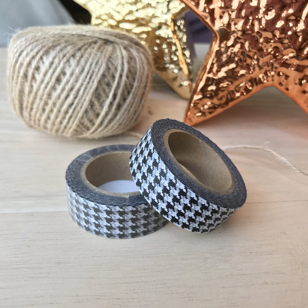 Washi tape - Houndstooth