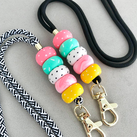 Busy Candy Lanyard