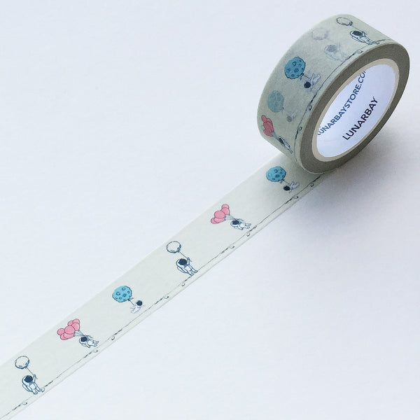 Pack of 2 - Man-In-Suit (Astronaut) Washi Tape Bundle