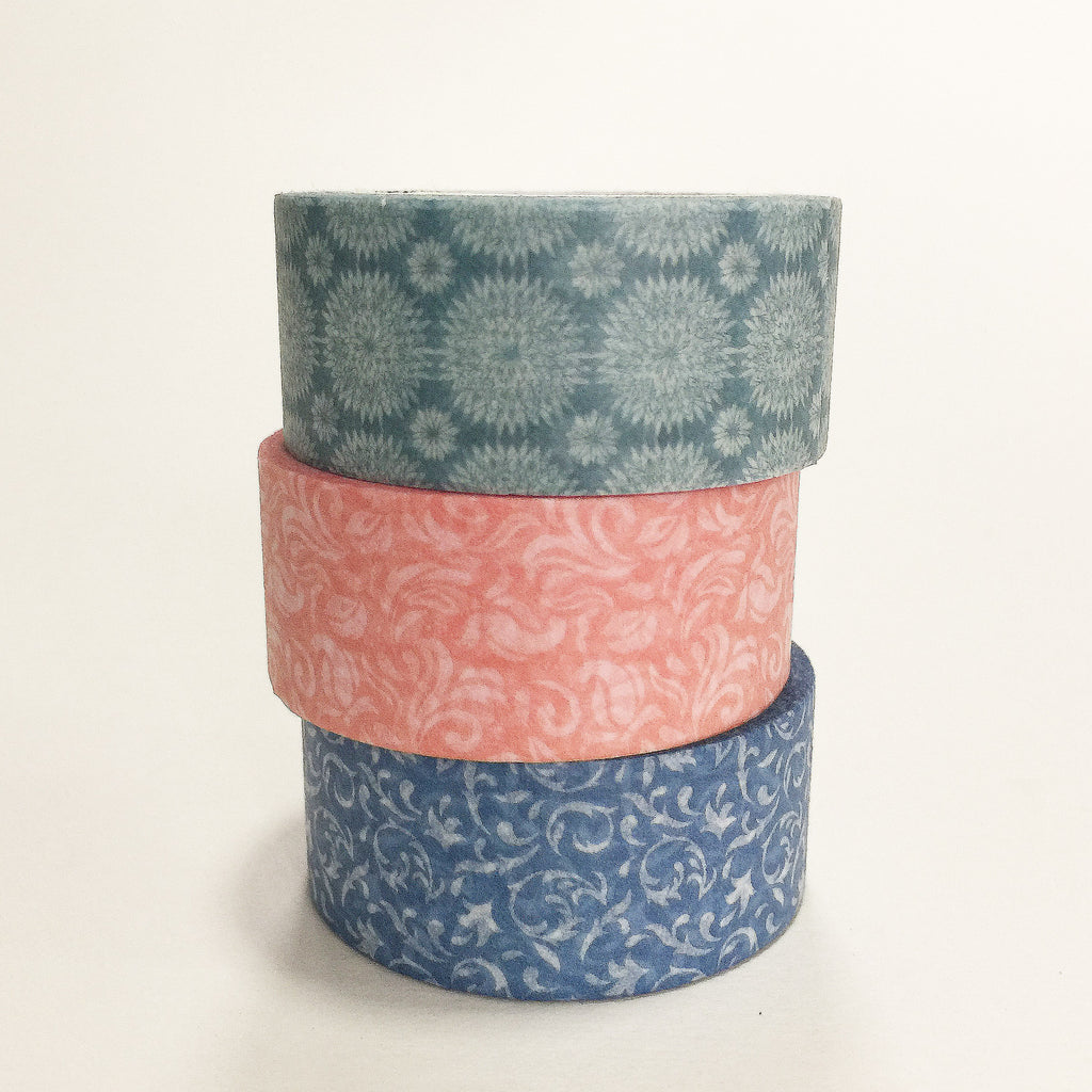 Pack of 3 - Motif Mosaic Washi Tape Bundle