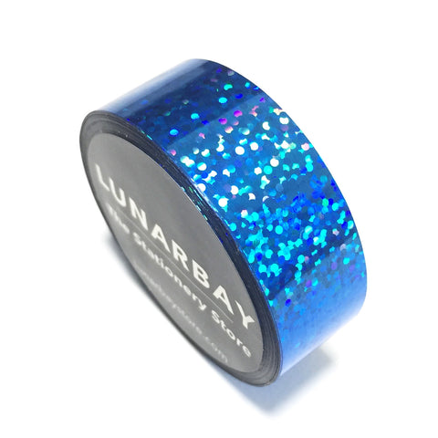 Holographic Blue / 15mm