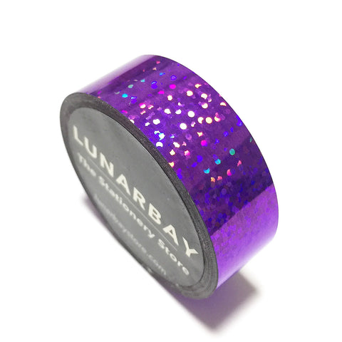Holographic Purple / 15mm