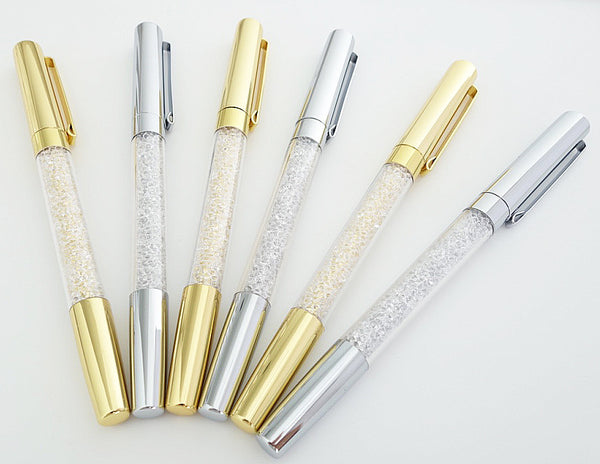 Crystal Pen (Gold)
