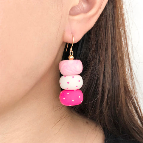 Pink Vibes Earrings