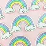 Vinyl Stickers (Pack of 3) - Rainbow Vinyl Sticker