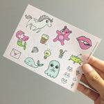 Washi Sticker - Sticker Doodles Pack