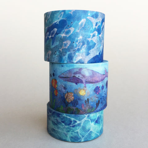 Pack of 3 - Deep Ocean Prints Bundle